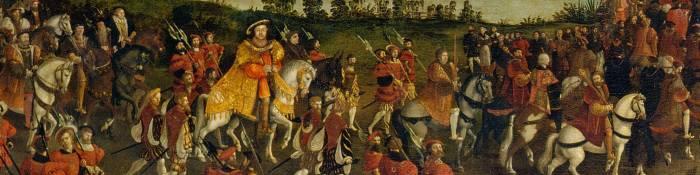 Henry VIII on horseback