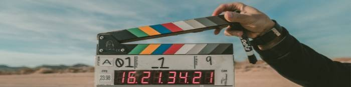 Film clapper board