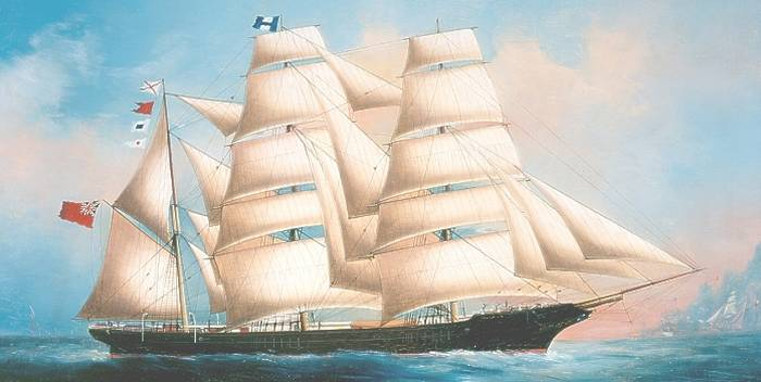 Sailing Ship John C Munro