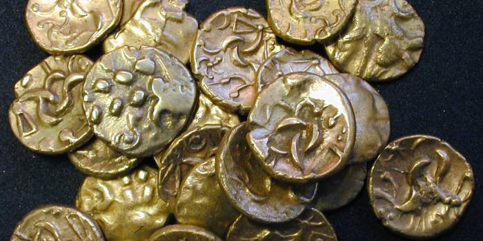 Iron age coin horde